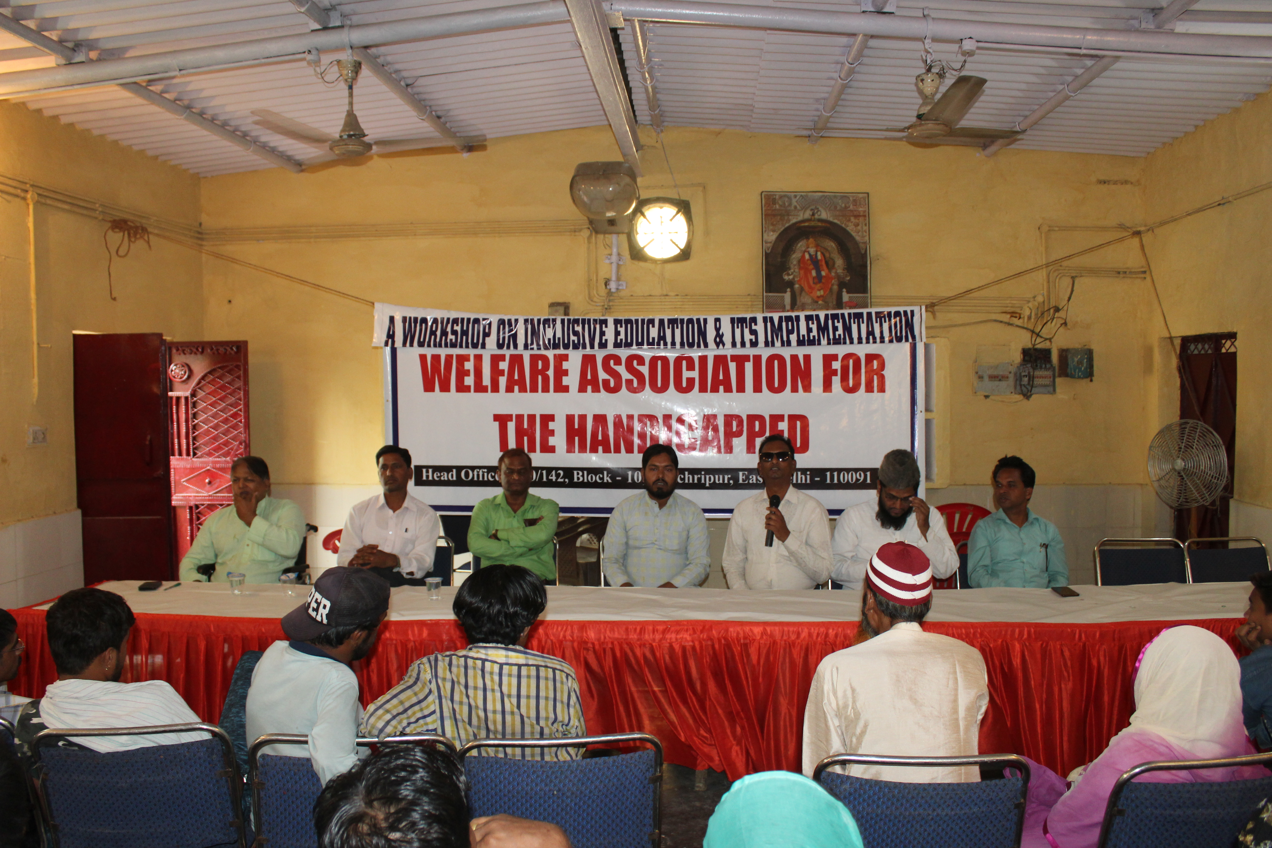 Photo of Workshop on Inclusive Education & Its Implementation by Welfare Association for the Handicapped
