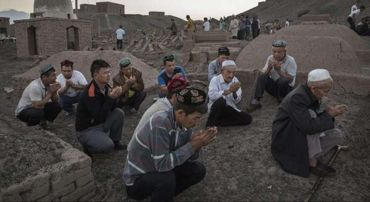 Photo of China's repression of Uyghur Muslims and Pakistan's shocking silence