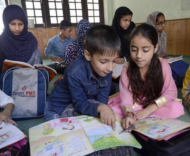 Photo of J&K: If children can go for tuitions, why not to schools?