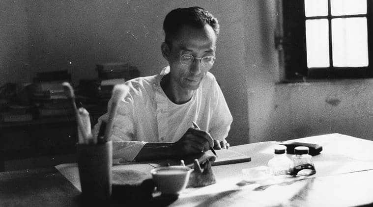 Photo of Chinese Scholar Translated The Upanishads
