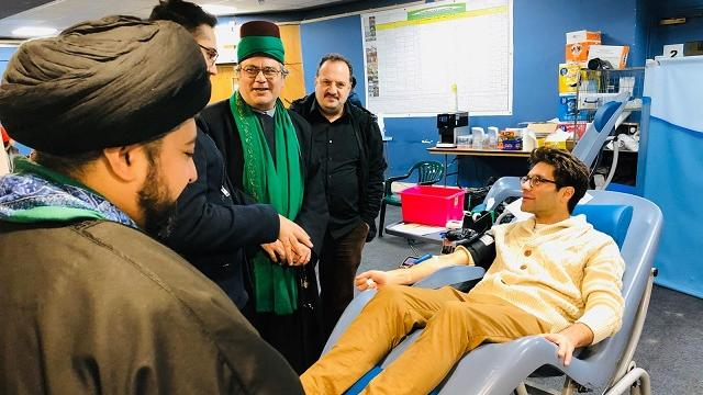 Photo of Mosque Welcomes Jews & Muslims For Interfaith Blood Donation Drive