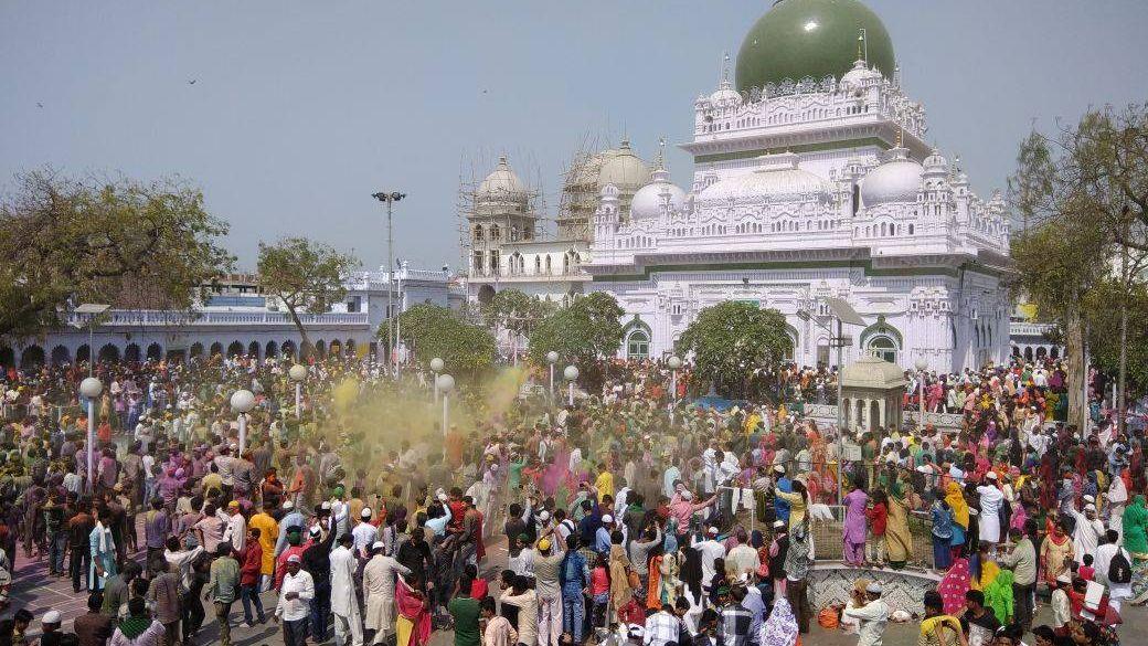 Photo of Holi Celebrations At UP Sufi Shrine Shines Out Amidst Polarisation