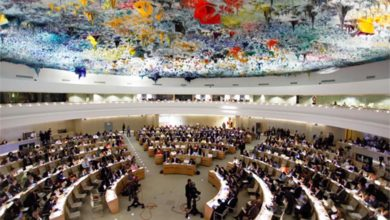 Photo of Maat's participation in the UN Human Rights Council's Interactive Dialogue