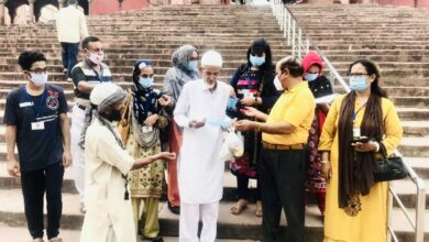 Photo of Al Ansar 7th Foundation Day Report – Distribution of Masks and Sanitizers