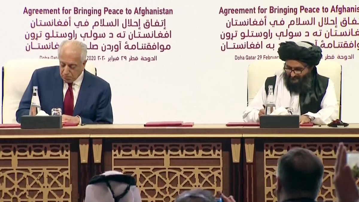 Afghan Peace Process in Doha and the Taliban
