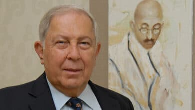 Photo of Yusuf Khawaja Hamied, Indian-origin scientist: Cambridge Chemistry Department re-named after him