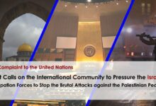 Photo of UN Must Pressure the Israeli Forces to Stop Attacks against the Palestinians: MAAT For Peace