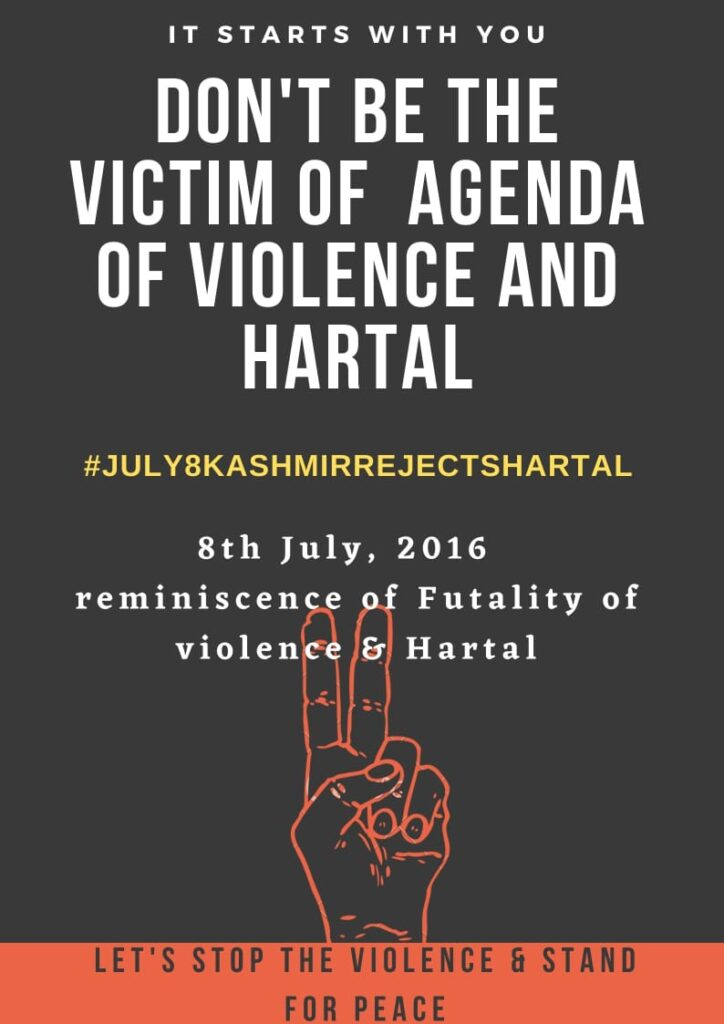 Development Schemes like the 'UMEED' Run Counter to the Misleading Calls of the Kashmir Hartal on July 8, 13
